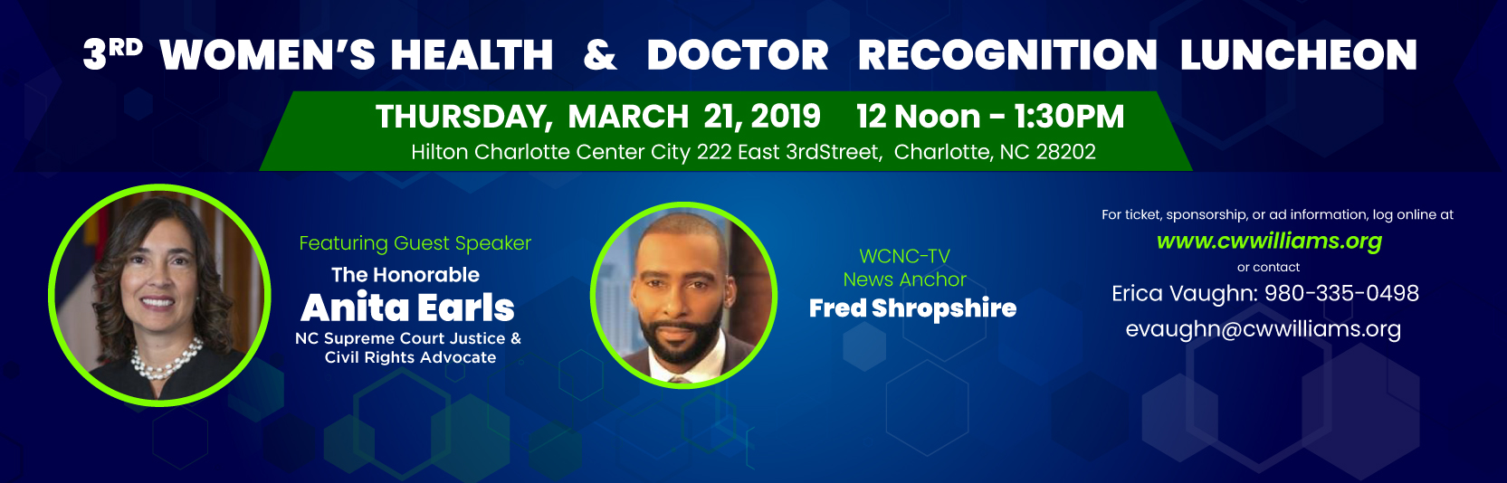 3rd Annual Women's Health & Doctor Recognition Luncheon