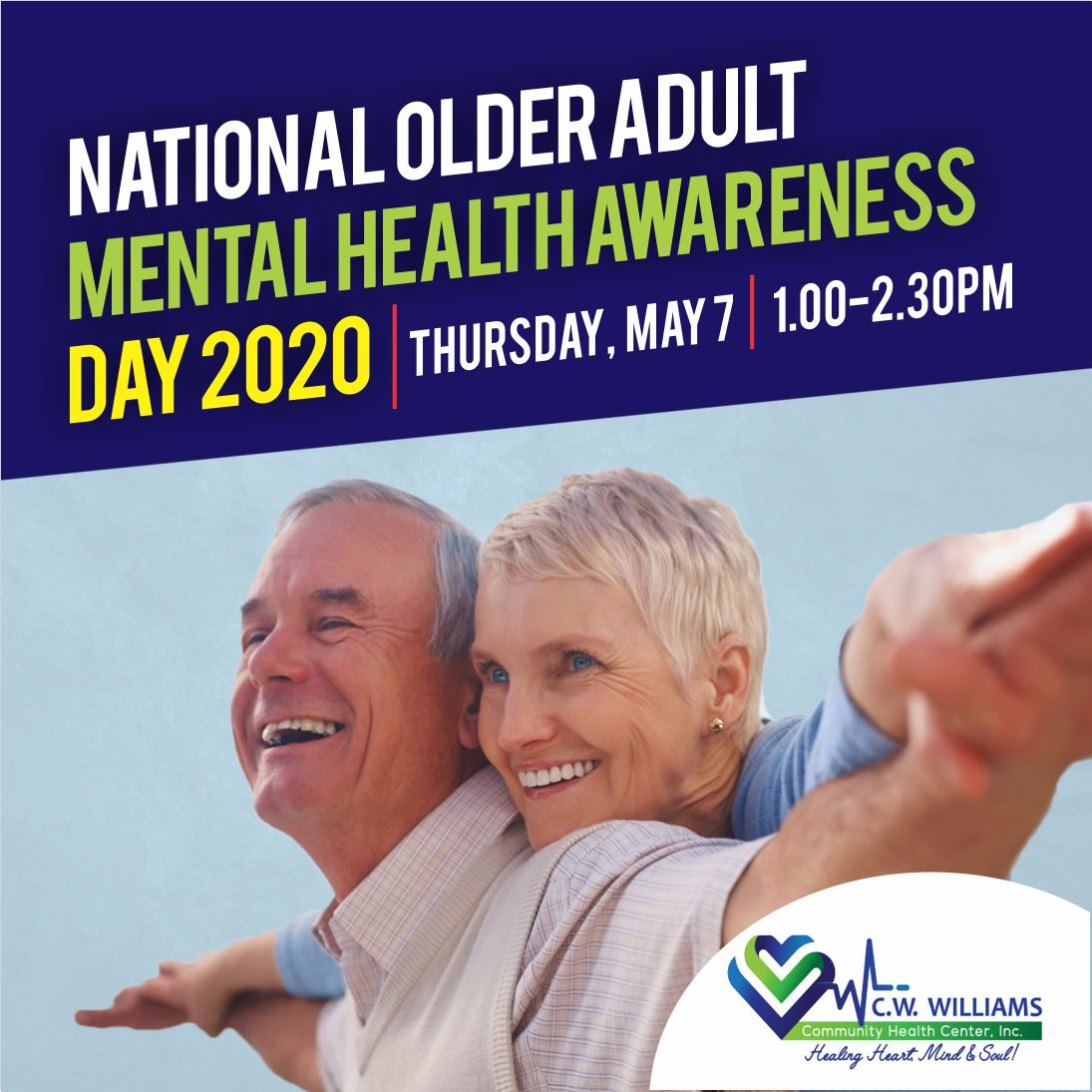 national older adult mental health awareness event design