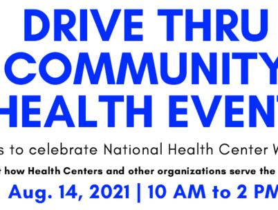 Drive Thru Community Health Event 2021